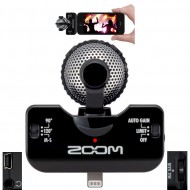 iQ5 BLACK MICROFONO IPHONE/IPAD ZOOM