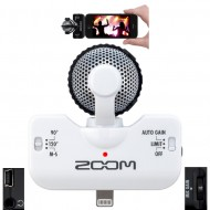 IQ5 WHITE MICROFONO IPHONE/IPAD ZOOM