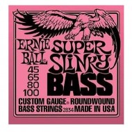 P02834 BASS SUPER SLINKY SET CUERDAS BAJO E.BALL