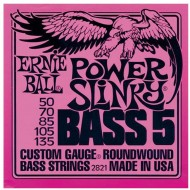 P02821 BASS 5-STR POWER SET CUERDAS BAJO E.BALL