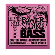 P02831 BASS POWER SLINKY SET CUERDAS BAJO E.BALL