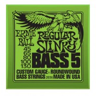 P02836 BASS 5-STR SLINKY SET CUERDAS BAJO E.BALL