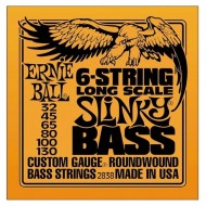 P02838 BASS 6-STR SLINKY SET CUERDAS BAJO E.BALL