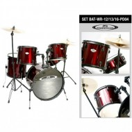 PD-04 SET WRD/WR BATERIA 12/13/16 HARDWARE POWERDRUMS