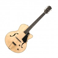 5TH AVENUE JAZZ FLAME NT GUITARRA ELECTRICA DE CAJA GODIN