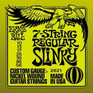 NICKL 7 REG SLINKY SET 7 CUERDAS GUITARRA ELECTRICA